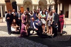 SBR visits Colleio Ghislieri in Pavia